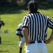 American footbal referee — Stock Photo