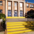 Stock Photo: Old catholic high school