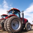 Stock Photo: Heavy duty farm equipment