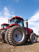 Heavy duty farm equipment — Stockfoto