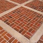 Abstract brick sidewalk — Stock Photo