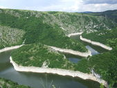 River meanders — Stock Photo