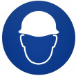 Safety helmet sign — Stock Photo