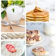 Stock Photo: Healthy Breakfast Collage