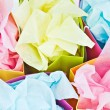 Stock Photo: Gift bags with tissue paper