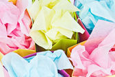 Gift bags with tissue paper — Stock Photo