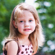 Portrait of a little girl — Stock Photo #2430810