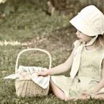 アマン派の子供 — ストック写真
