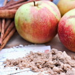 Stock Photo: Apples and Spice
