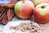Apples and Spice — Stock Photo