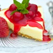 Cheesecake — Foto de Stock