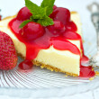 Cheesecake — Stock fotografie