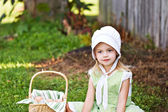 Amish Child — Stock Photo