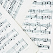 Sheet Music — Stock Photo
