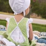 Amish Child — Stock Photo