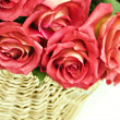 Basket of Roses — Stock Photo #2642087