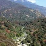 Panoramic landscape of nationa park — Stock Photo