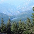 Panoramic landscape of nationa park — Stock Photo