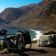 Bicycle on Pacific coast — Stock Photo #2355950
