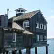 Old maritime building on piles — Stock Photo #2366873