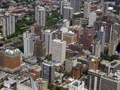 Paesaggio urbano di chicago — Foto Stock