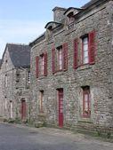 Pitorescas casas históricas — Fotografia Stock