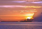 Key West Sunset — Stock Photo