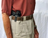 Concealed Carry Handgun — Stock Photo