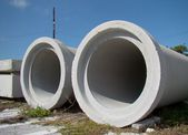 Cement Pipes — Stock Photo