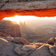Mesa Arch Sunrise — Stock Photo