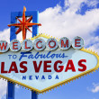 las vegas sign — Stock Photo