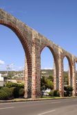 Queretaro Los Arcos Aqueduct. — Stock Photo