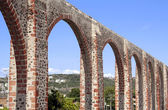 Queretaro's Los Arcos Aqueduct — Stock Photo