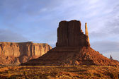 West Mitten Butte — Stock Photo