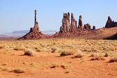 Monument Valley Totem Pole — Stock Photo