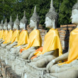 Wat Yai Chai Mongkol — Stock Photo #2390824