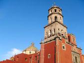 Church of San Francisco in Queretaro, Mexico. — 图库照片