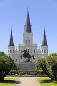 Saint Louis Cathedral in New Orleans, Louisiana. — Stock Photo