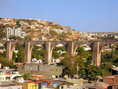 The Los Arcos (aqueduct) of Queretaro, Mexico. — Stock Photo