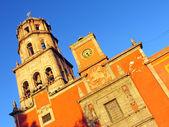 Church of San Francisco in Queretaro, Mexico. — Stock Photo