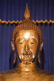 Wat Trai Mit Golden Buddha in Bangkok, Thailand. — Stock Photo