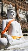 Thai Buddha Statue at Wat Yai Chai Mongkol — Stock Photo
