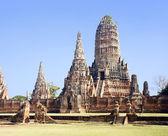 Wat Chai Wattanaram — Stock Photo