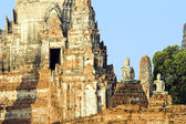 Wat Chai Wattanaram — Foto de Stock