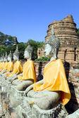 Wat yai chai mongkol — Foto de Stock