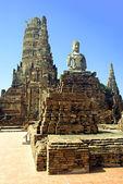 Wat Chai Wattanaram — Stockfoto