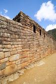 Machu Picchu Artisans Wall — Stock Photo