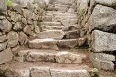 Machu Picchu Staircase — Stock Photo