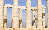 Temple of Poseidon — Stock Photo