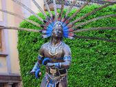 Statua indiano Queretaro — Foto Stock